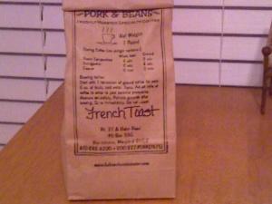 Hahn's Frest Toast Coffee