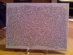 Canvas Fractal